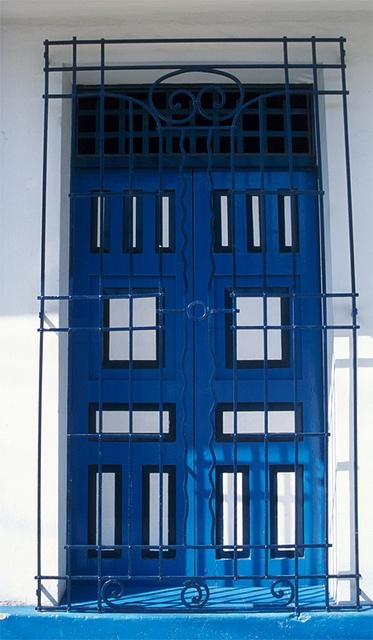 """""""Blue Door"""", Santa Marta, Colombia"""