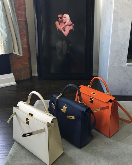 Hermes Kelly bag collection