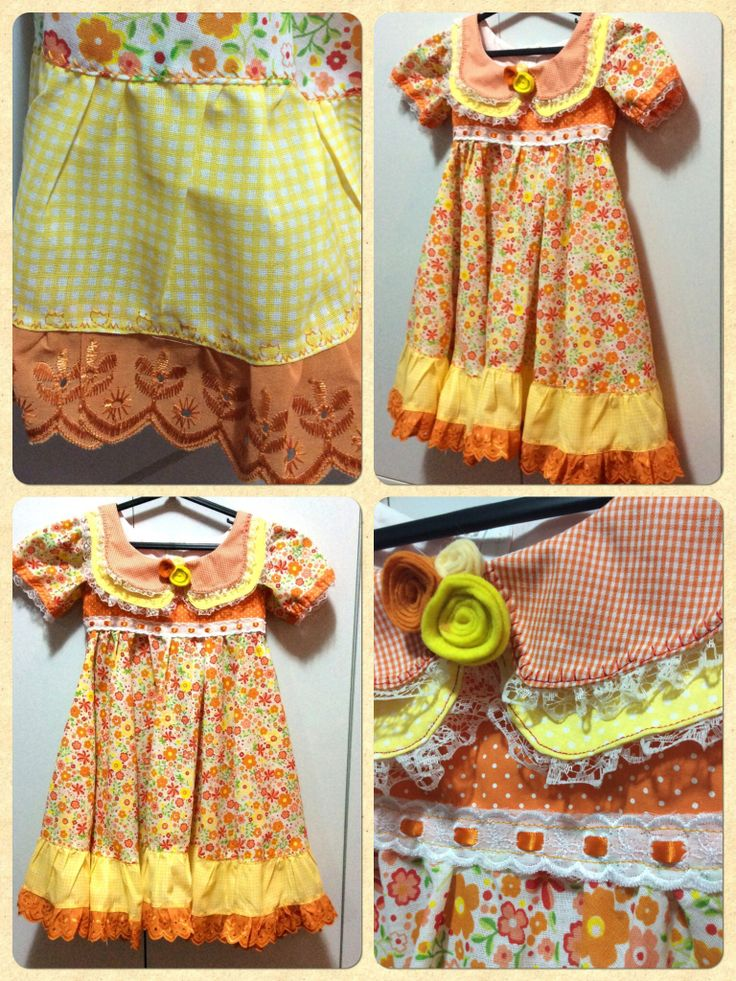 Vestido de Festa Junina. Girl's dress to brazilian Junina's Party.