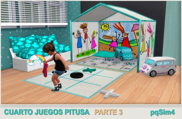 Sims 4 Cc S The Best Toddler Playroom By Pqsim4 Sims