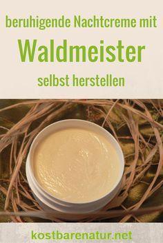 Eine Creme herzustellen ist viel einfacher als du vielleicht denkst. Hier zeige ich dir, wie du mit Waldmeister eine wunderbare Nachtcreme rührst.: