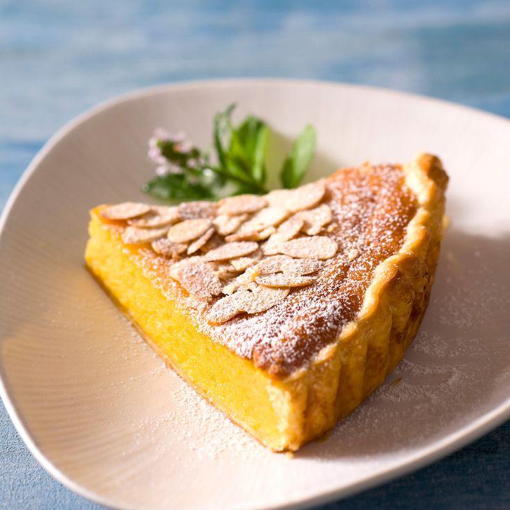 Découvrez la recette Tarte dessert au potiron sur cuisineactuelle.fr.