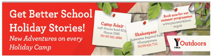 Y Outdoors school holiday camps for great summer fun!