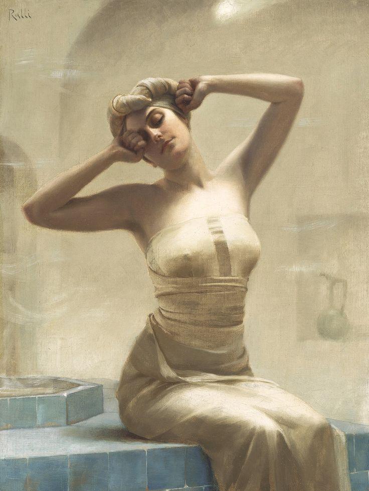At The Bath, Theodoros Ralli