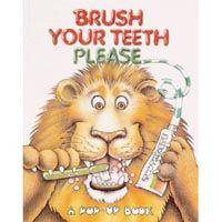 Bush Your Teeth Please Pop-Up Book