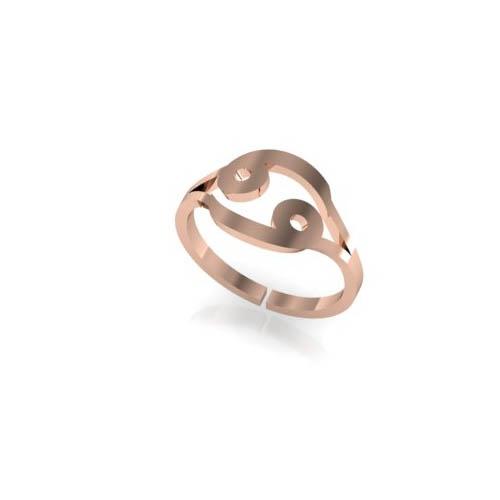Yengeç Burç Yüzük - Cancer Zodiac Ring