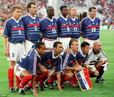 On this Day 1998: France beats Brazil to win FIFA World Cup      On July 12 1998 France defeats favored Brazil 3-0 to win the FIFA World Cup at Stade de France in Saint Denis. This was the first World Cup France had hosted since 1938 and the countrys first-ever World Cup title. The 1998 Les Bleus was a multi-ethnic squad that reflected the countrys diverse post-World War II make-up. Defender Lilian Thuram was from Guadeloupe junior striker Thierry Henry was of Antillean heritage and…