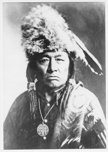 Imasees (aka Little Bear) the son of Big Bear - Cree - circa 1909