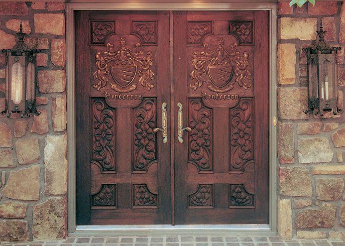 Pinecrest fine wood doors leaded glass doors hand-carved doors and made to & 84 best Door images on Pinterest | Interior doors Wooden doors ... pezcame.com
