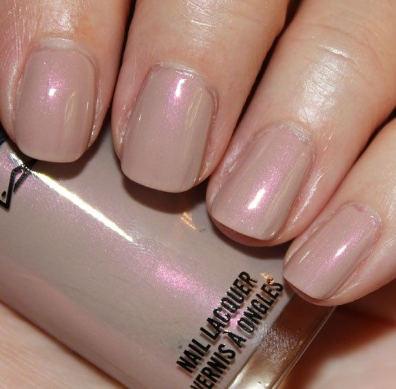 Image result for iridescent nude nail polish