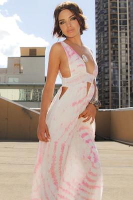 Pretty tie-dye Indah dress! <3