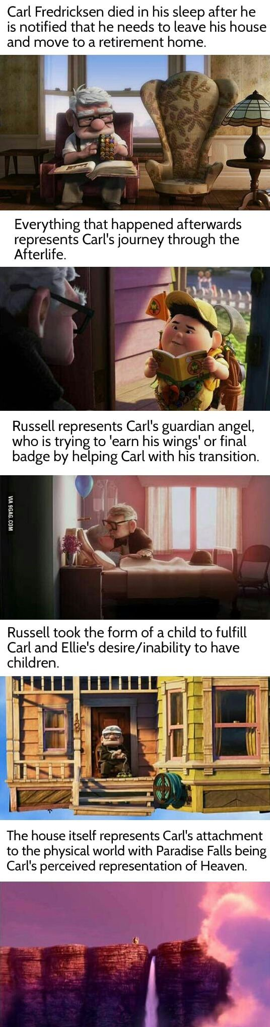 A Theory About Pixar's UP (mind blown): the feels