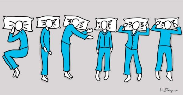 Which is your favorite way to sleep? Pick one and keep reading to see what it says about you.