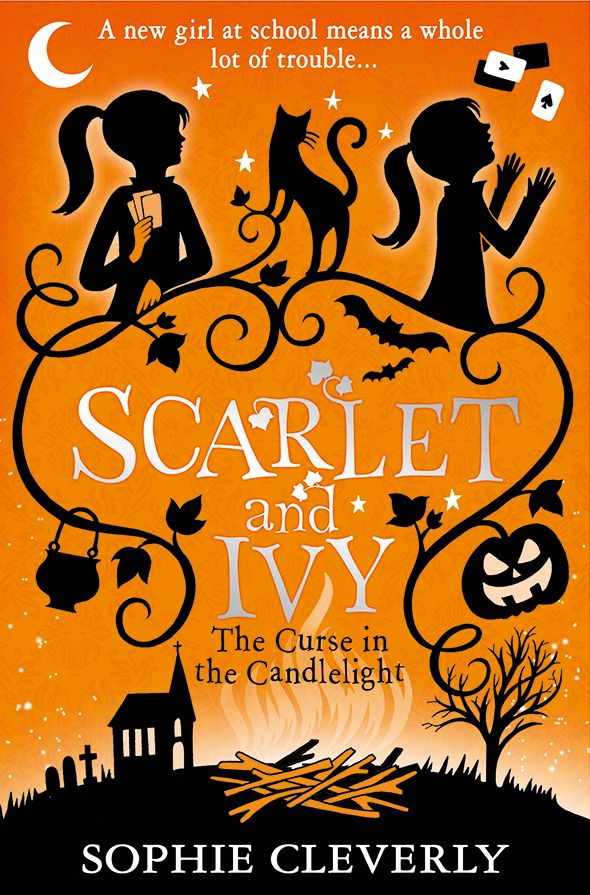 UK edition of The Curse in the Candlelight