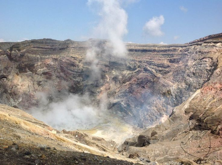 """Visiting the Largest Active Volcano in Japan """"Mount Aso"""" in Kumamoto Prefecture"""
