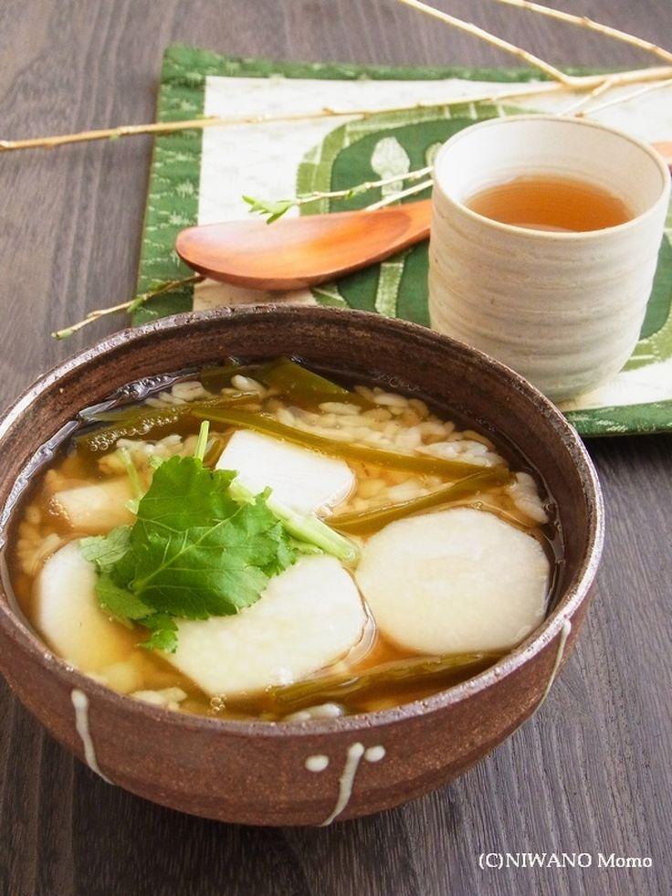 祖母の味* 里芋と昆布の雑炊 by 庭乃桃 | レシピサイト「Nadia | ナディア」プロの料理を無料で検索