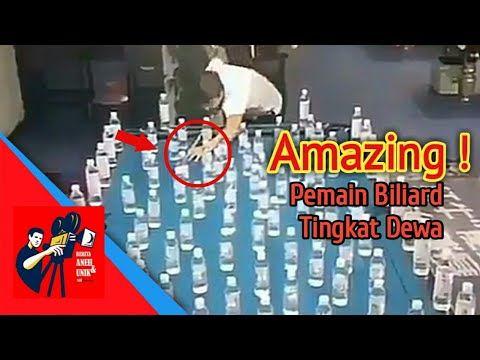 Amazing! Aksi Permainan Biliard Tingkat Dewa