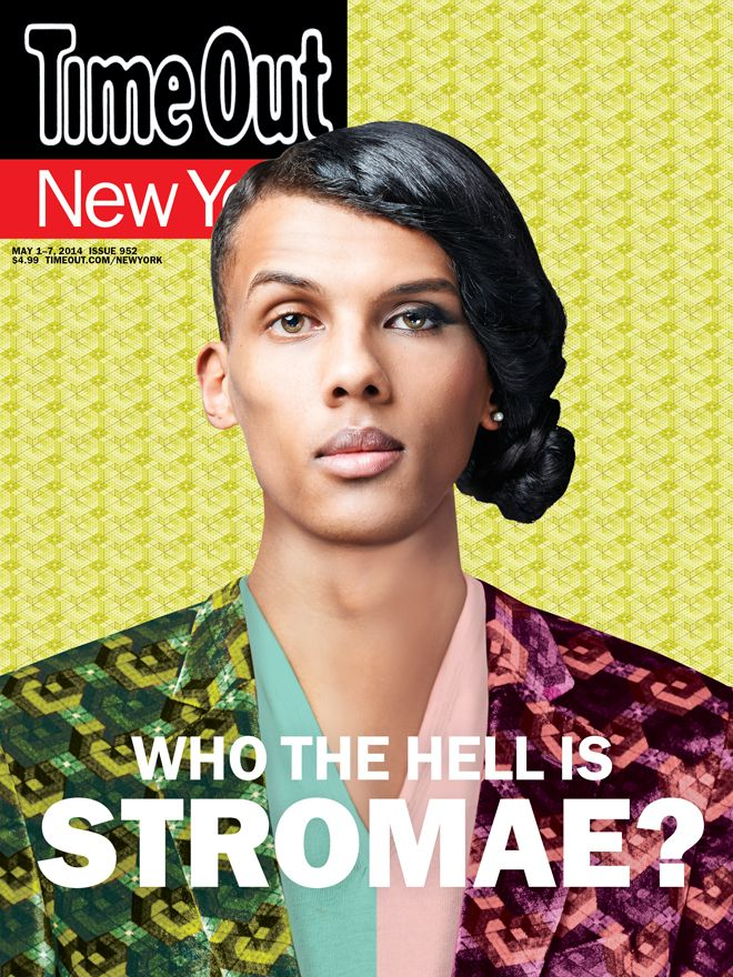 "Belgian francophone pop star Stromae made the cover of this week's Time Out : ""Meet Stromae, the most famous pop star you've never heard of"""