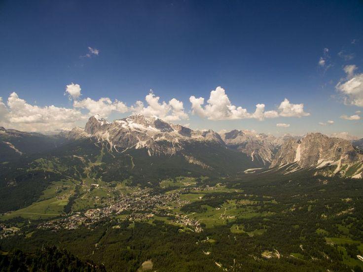 Dolomiti in Italy from Drone. Photography Dji Phantom 3 Advanced