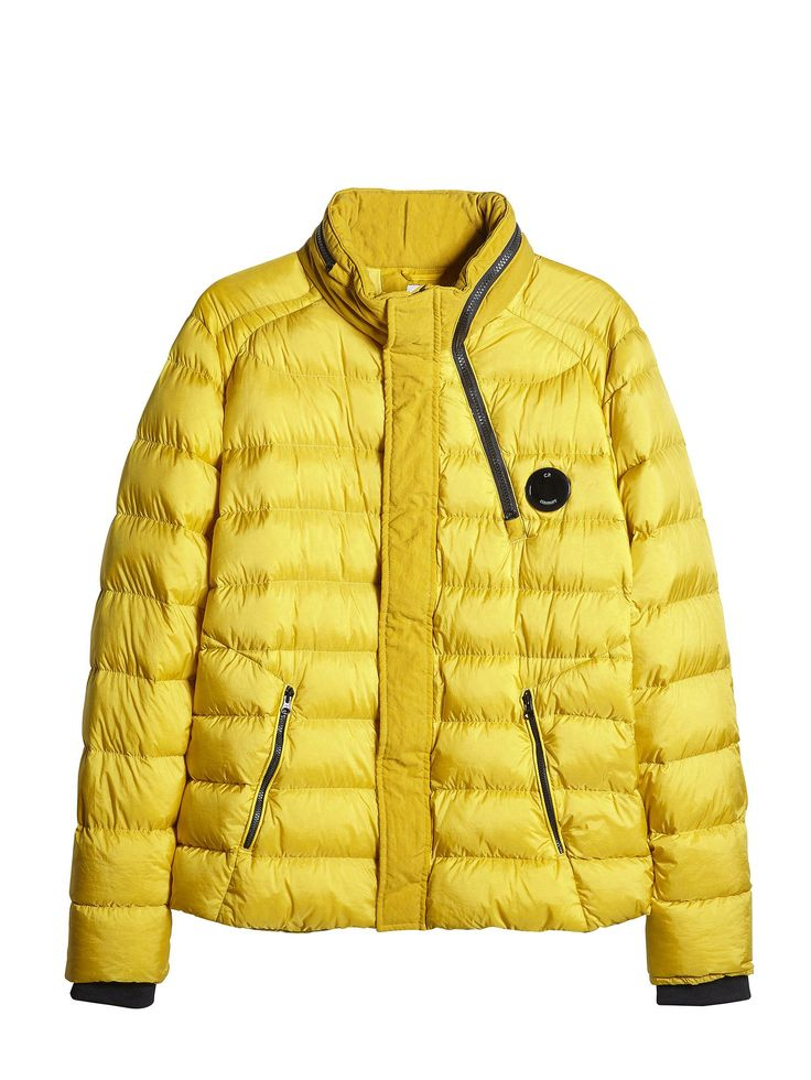 C.P. Company DD SHELL Down Jacket in Yellow