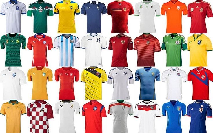 Each teams kits for the #worldcup #2014: Brazil 2014, World Cup 2014, Football, Brazil World, Worldcup 2014, Cups Kits, 2014 Brazil, World Cups 2014, 2014 Kits