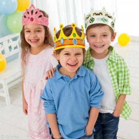 couronne pour fille et garçon