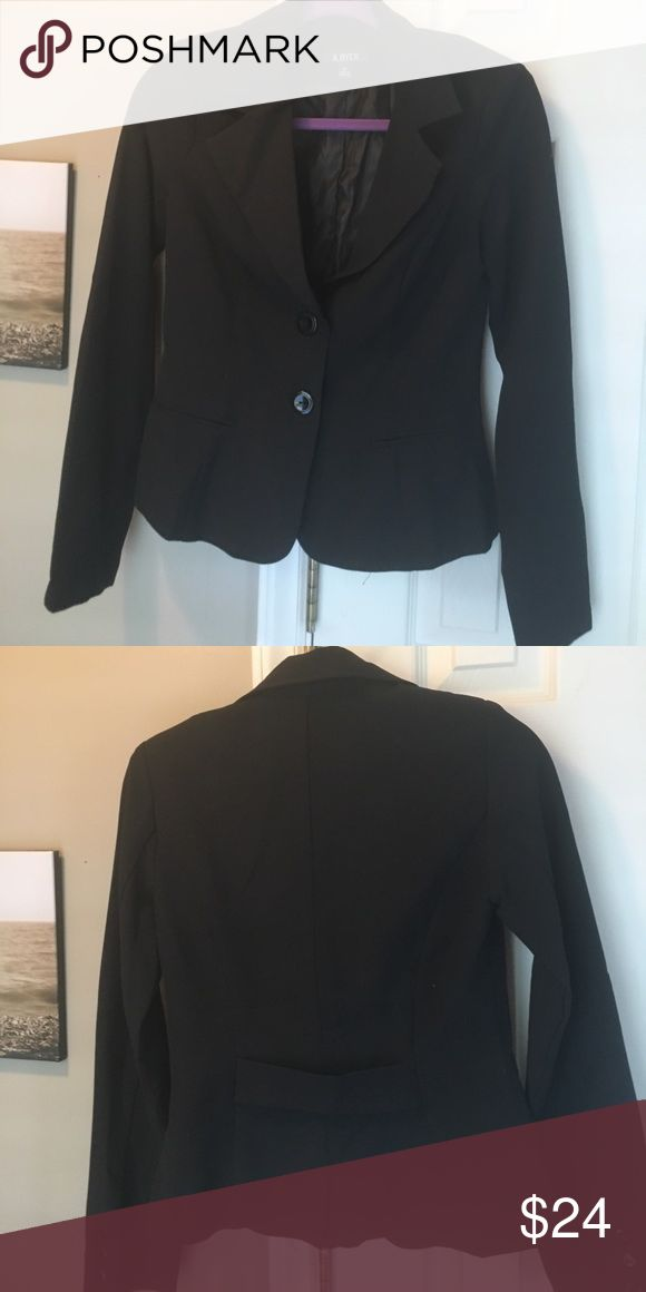 Ladies black Blazer Ladies black blazer. Never worn. Size M Jackets & Coats Blazers