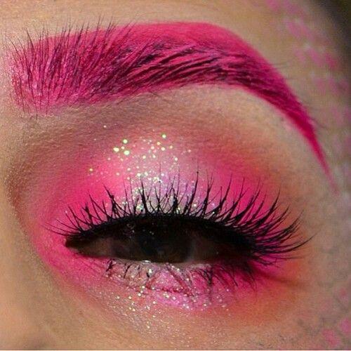 Roze ogen....