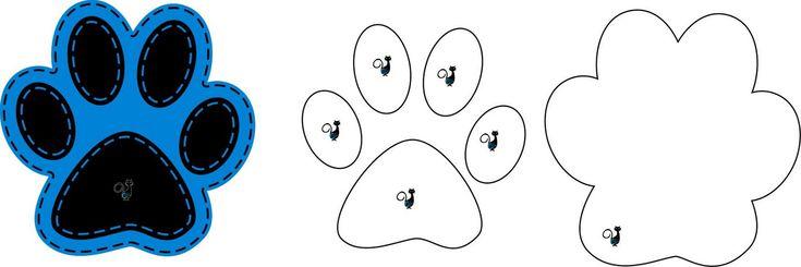 patinhas de urso em feltro - Pesquisa Google