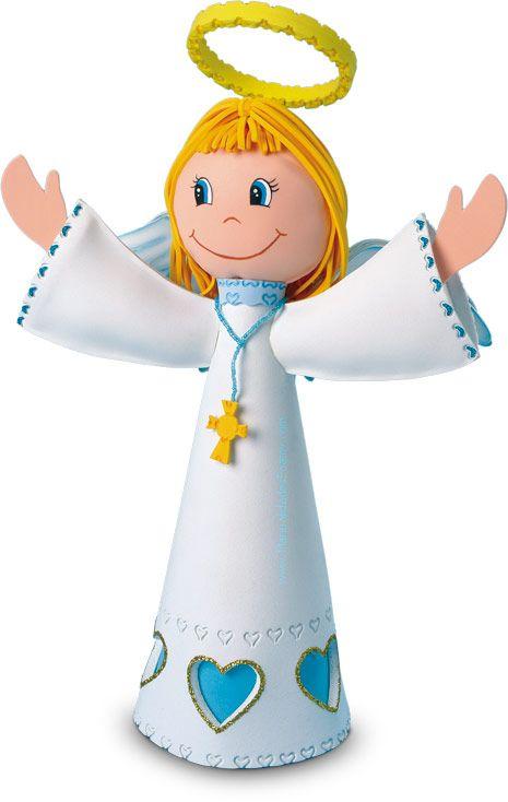 Angel Primera Comunion en Foamy Goma Eva