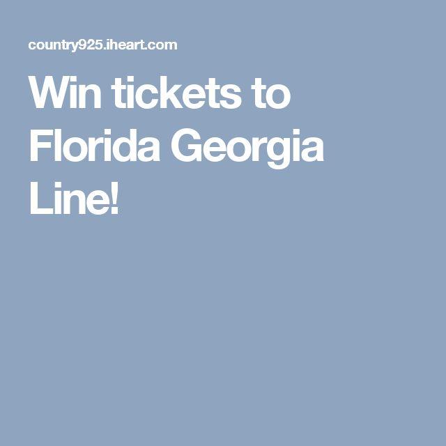 Win tickets to Florida Georgia Line!