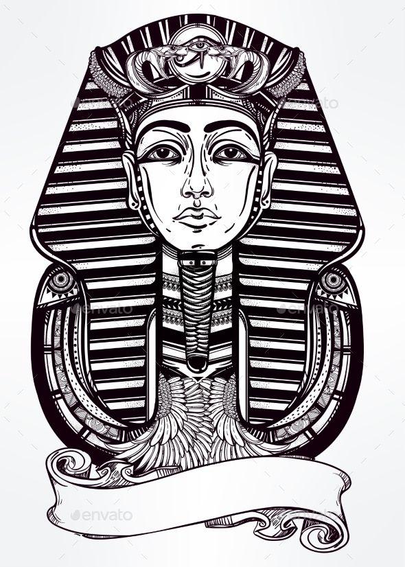 best 25 pharaoh tattoo ideas on pinterest egypt tattoo egyptian tattoo and sfinge image. Black Bedroom Furniture Sets. Home Design Ideas