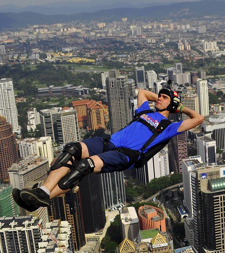 2013 Kuala Lumpur Tower International BASE Jump