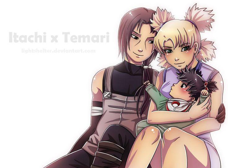 Commission: Itachi x Temari