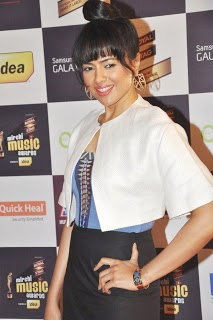 Sameera Reddy at The 5th Mirchi Music Awards.