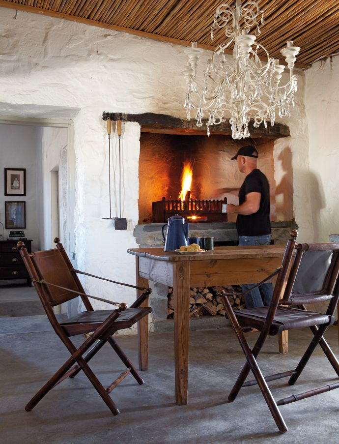 fire Rustic Karoo Farmstead | House and Leisure