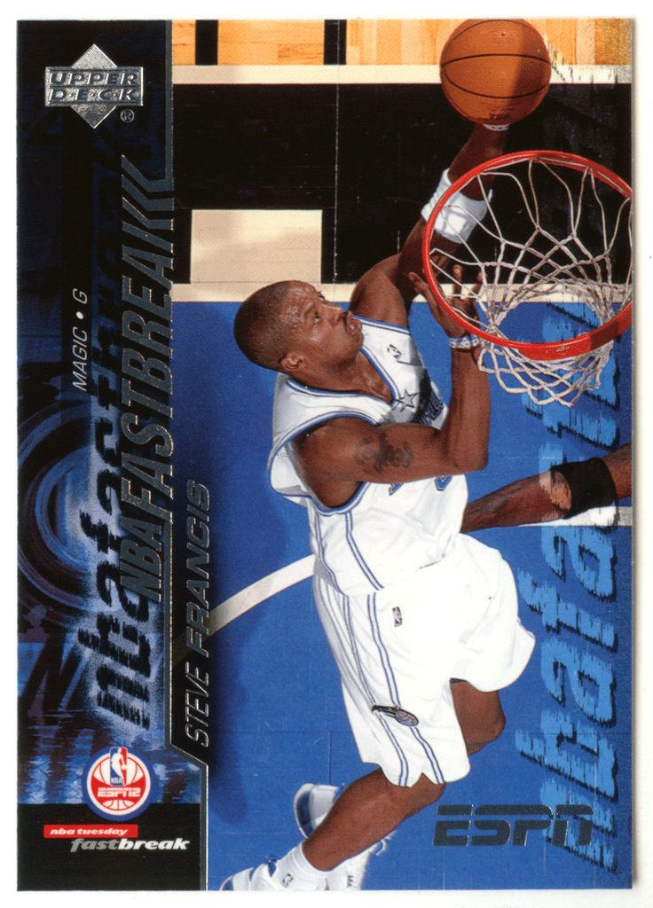 Steve Francis # FB-14 - 2005-06 Upper Deck ESPN Basketball NBA Fast Break