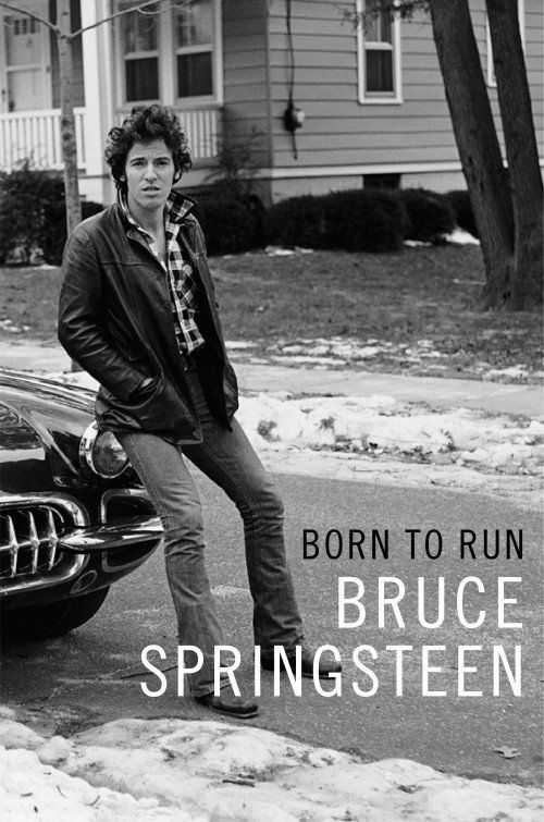 Born To Run - Bruce Springsteen's autobiography will be released on Sept. 27th, 2016