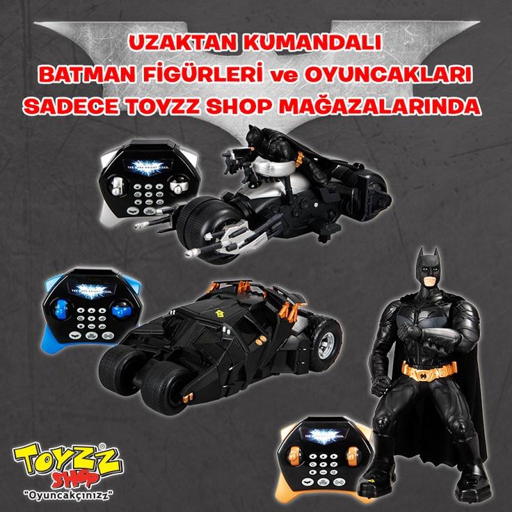 Batman hayranlarına müjde! Uzaktan kumandalı Batman figürleri ve oyuncakları sadece Toyzz Shop'ta.
