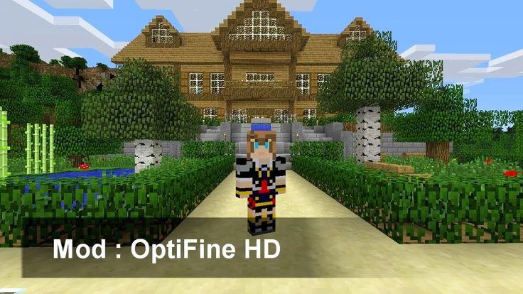 Minecraft Mod : OptiFine HD - YouTube