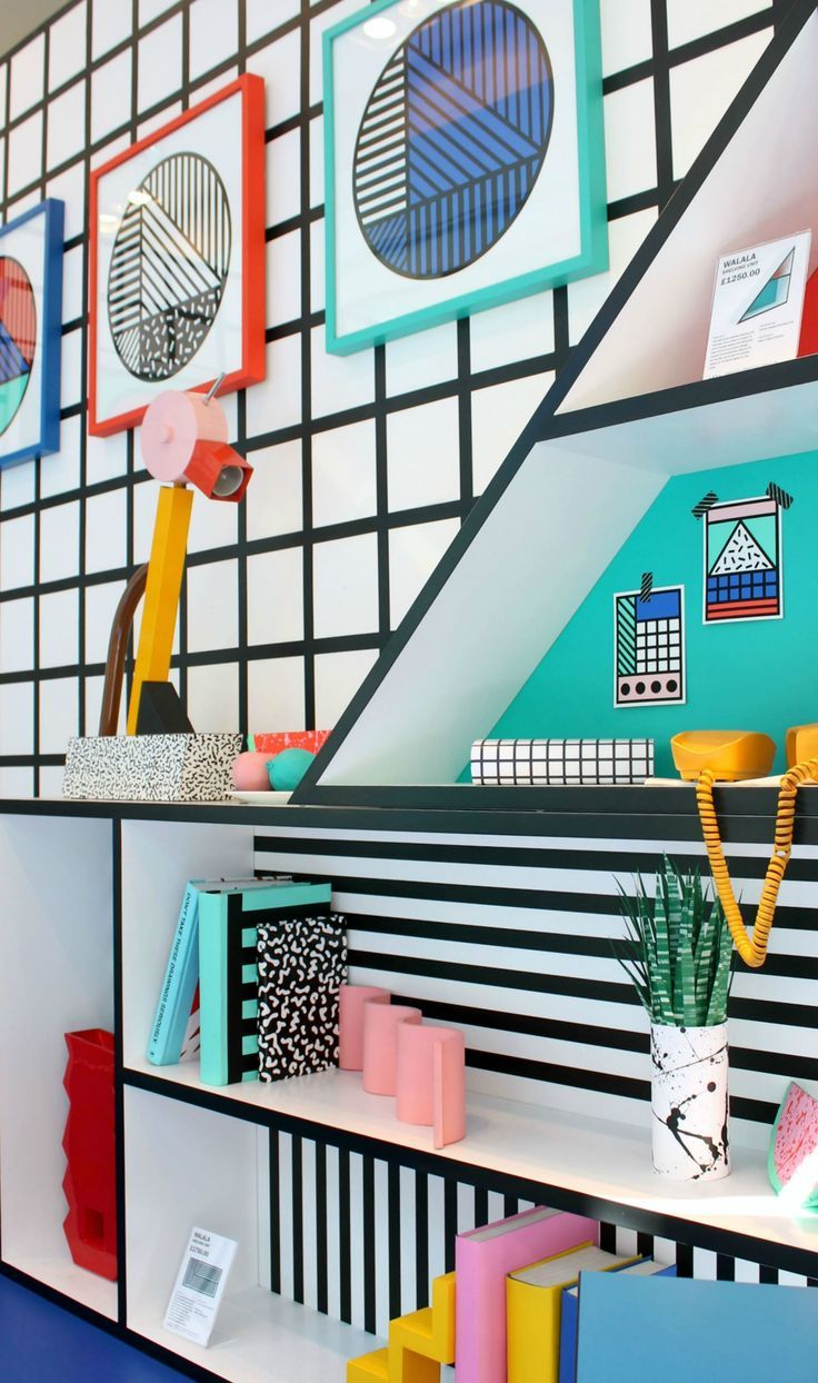 Camille Walala at Aria – The Memphis trend.: