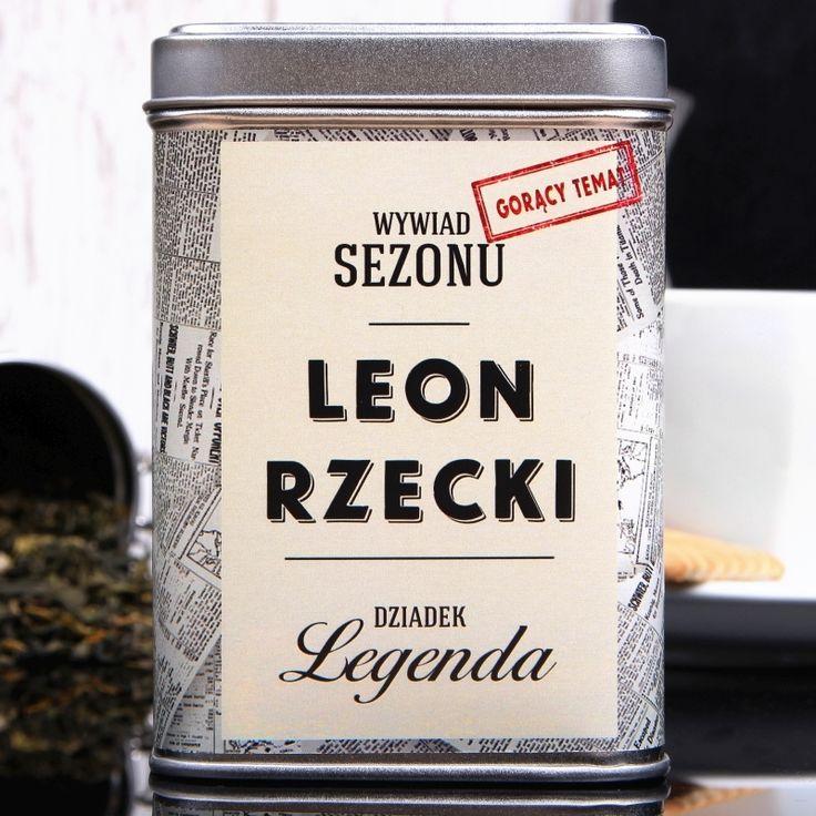 Herbata personalizowana DZIADEK LEGENDA