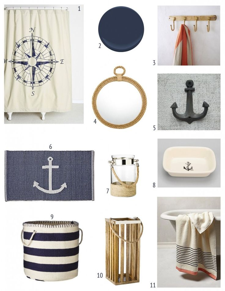 Best 20+ Nautical theme bathroom ideas on Pinterest | Nautical ...