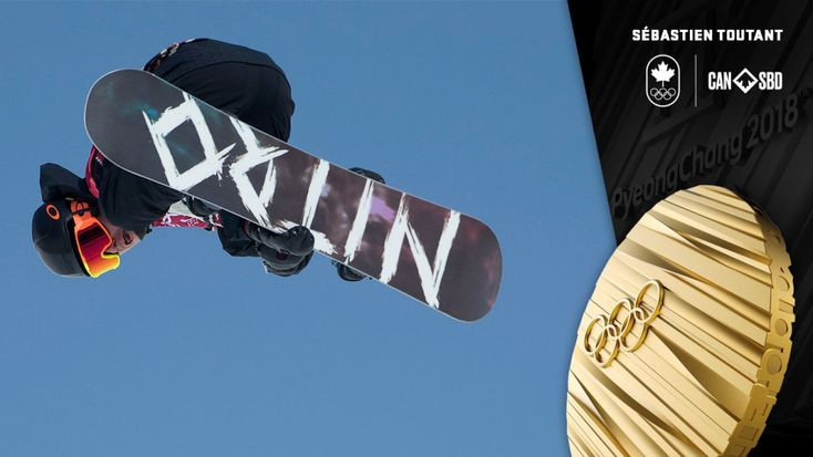 Toutant first ever Olympic champion in men's snowboard big air. Sebastien Toutant is heading home from PyeongChang 2018 with an Olympic gold medal, after finishing first in the Olympic debut of snowboard big air.