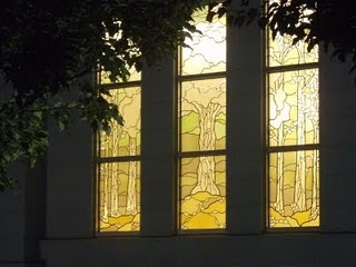 To Do!  View Stained Glass Trees from Palmyra Temple and learn more about the amazing artist's story!