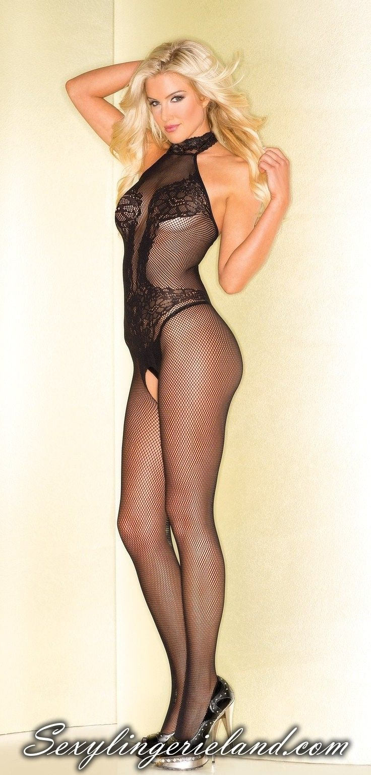 214bf282c3e Have a good night with your lover. Thanks to fabulous black  bodystocking  Fishnet bodystocking are made of quality nylon. Neck halter design.