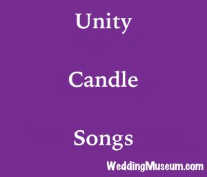 unity candle songs for when the bride and groom light their candles into one.  #unity #candle #songs