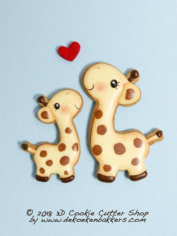 The 25+ best Giraffe cookies ideas on Pinterest Bird cookies - griffe für küche
