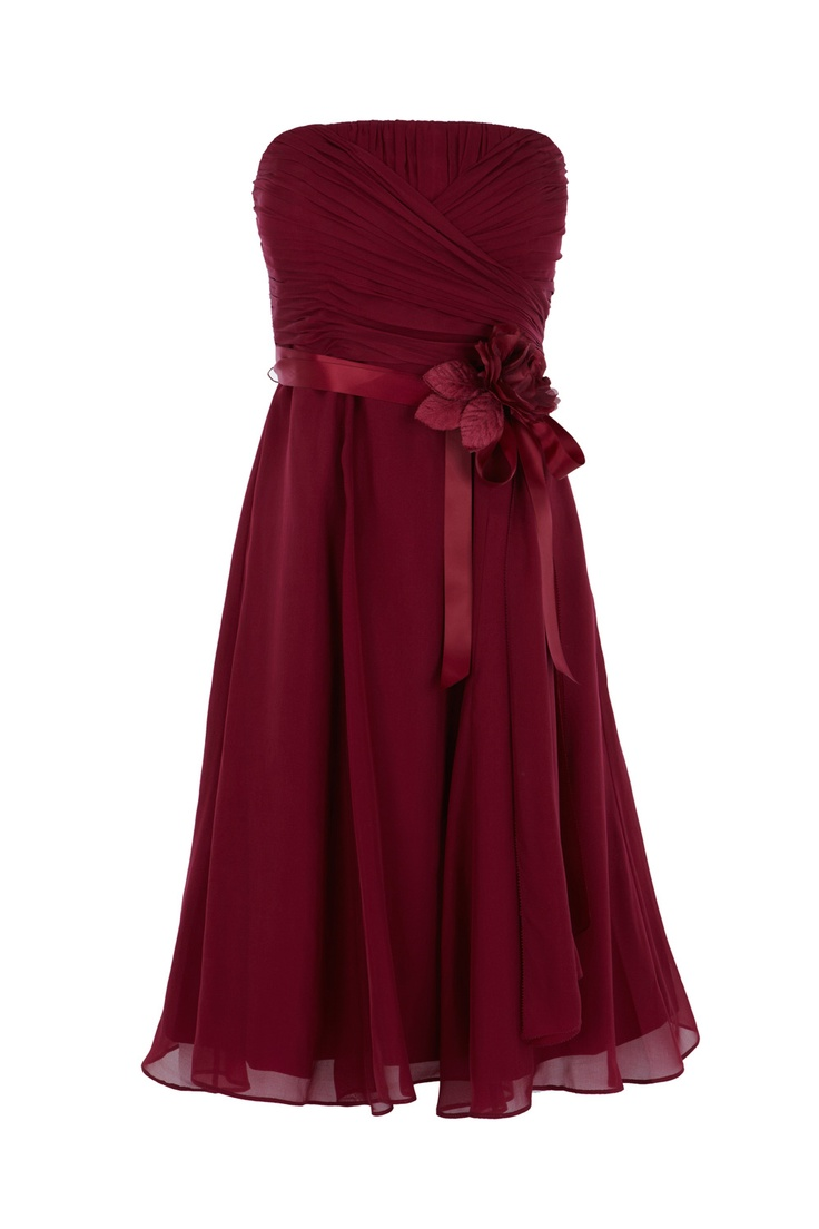 Allure dress in crimson. Be cute for bridesmaids when i get married ;)