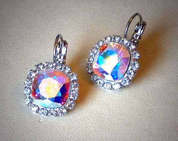 Austrian crystal 10mm fancy square stone by CrystallizedByLena, $25.00